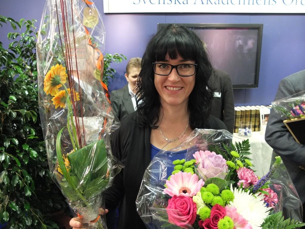 Anna Kaya. Svenska Akademiens svensklärarpris 2012